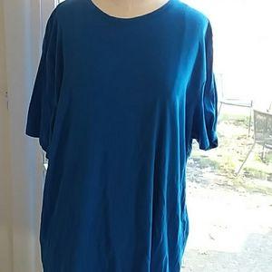 Women's Apt.9 Stretchy Blue Tshirt Size XL